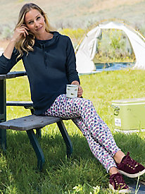 Women's Print ButterFleece Light Leggings