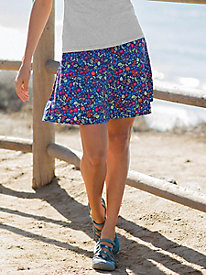 Women's New Transport Print Skort