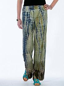 Women's Bali Tie-Dyed Knit Pants