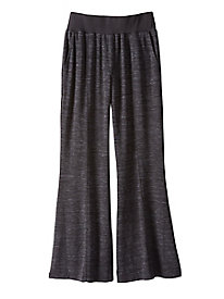 Yummy Knit Wide-Leg Pant