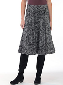 Women's Seams Perfect Swing Print Skirt
