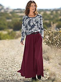 Infinity Knit Maxi Skirt...