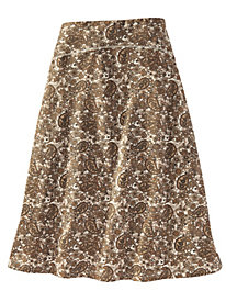 Women's Bella Coola Knit Print Skirt