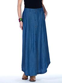 Everyday Blues Maxi Skirt