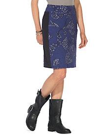Women's Cute Little Jacquard Pull-On Skirt