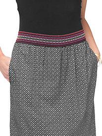 Women's Guitar Strap Maxi Skirt