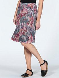 Women's Reversible Knit Skirt