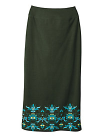 Women's Best Knit Midi Skirt