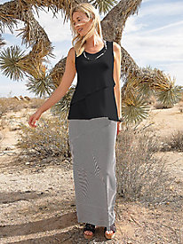 New Snip-to-Fit Chevron Skirt