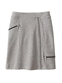 Zip Pocket Cargo Skirt