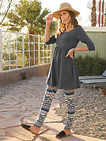 The Perfect Tunic and Leggings Outfit