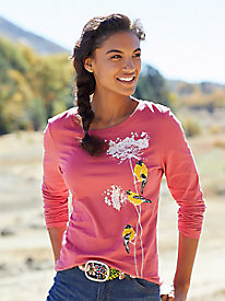Women's Saturday Market Long-Sleeved Tee