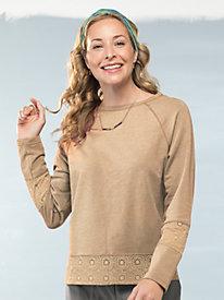 Women's Wishful Lace Sweatshirt