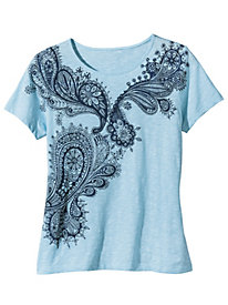 Women's Paisley Please Me Tee
