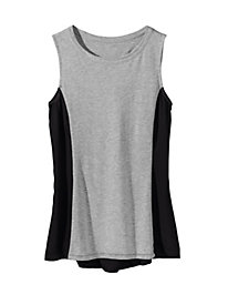 Women's Mixed Media Tank Tunic