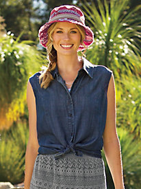 Women's Sorta Blue-Jean Blouse