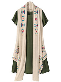 Women's Wow 'Em Knit Tunic Vest