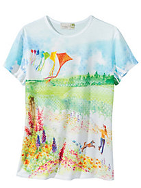 Get Out & Play Tee