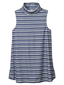 Women's Skinny Stripe Sleeveless Tunic