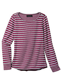Women's Stripe It Lucky Knit Top