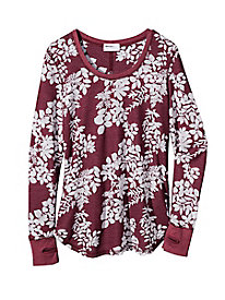 Flora Waffle Knit Top