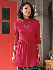 Mock Neck Perfect Tunic