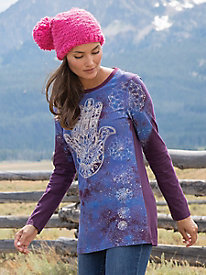 Saturday Market? Long Sleeve Tunic