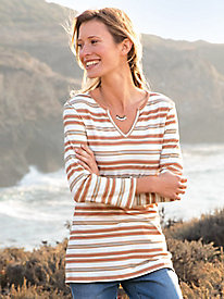Earthy Stripe Tunic