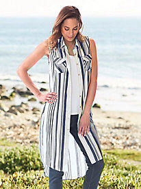 Striped Duster @...