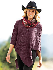 Women's Real Life Poncho