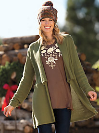 Women's Outfit-Maker Tunic Cardigan by Sahalie