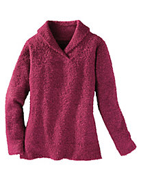 Women's Wooby Boucle Solid Sweater