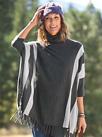 Women's Sweater + Poncho...