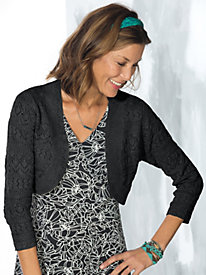 Women's Lacy Sweater Shrug