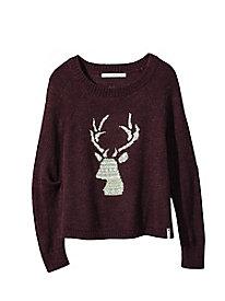 Women's Woolrich Motif Sweater