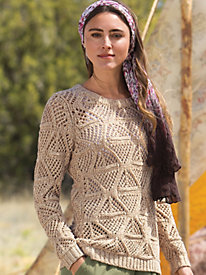 Women's Oatmeal & Brown Sugar Sweater