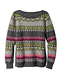 Jaime's Fair Isle Sweater