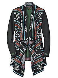 Icelandic Design® Southwestern Snowfall Cardigan