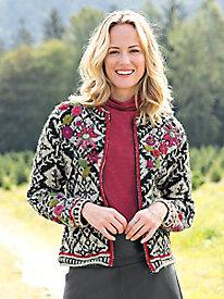 Sashi Sweater, handmade in Nepal
