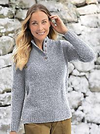 Boucl Henley Sweater...