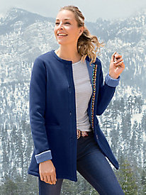 Women's Fleece Anywhere Coat