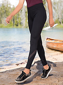Mesh Detail Legging