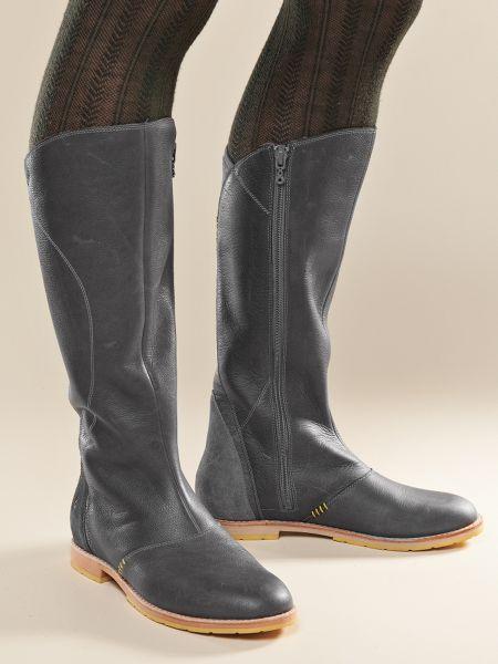 Ahnu Womens Black Boots Helena