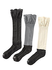 Women's Lace Knee-High Bootights