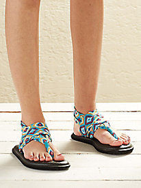 Women's Sanuk Yoga Sling Print Sandals