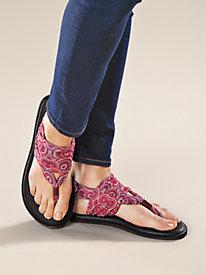 Women's Sanuk Yoga Sling Print Sandals by Sahalie
