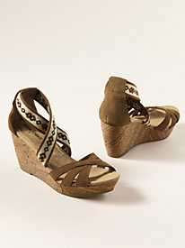 Women's Minnetonka Drew Wedge Sandals