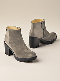 Women's Bussola Suede & Smooth Booties