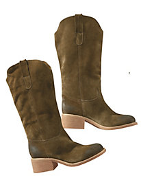 Women's Suede City/Country Boots