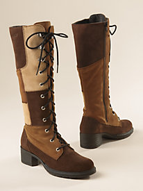 Women's Sahalie Patchwork Waterproof Boots